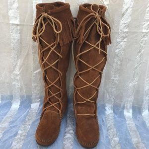 Minnetonka tall boots